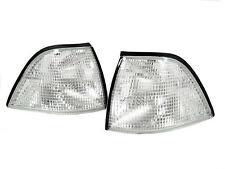 Depo 92-99 BMW E36 2D Coupe/Convertible Euro Clear Corner Signal Light M3 Pair