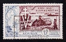 Sello AEF Stamp - Yvert y Tellier nº57 (b) Matasellados (Col1)
