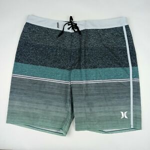 HURLEY Phantom Board Shorts Back Pocket Unlined Men's Size 38