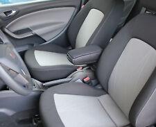 SEAT IBIZA MK4 IV 6J SC ST 2008-2017 CENTRE CONSOLE ARMREST BLACK - FREE POSTAGE