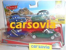 BRENT MUSTANGBURGER + DAVID HOBBSCAPP - with Headset Disney Pixar Cars 2 Mattel