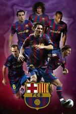 Barcelona Players 2007 - 2008 - Maxi Poster 61cm x 91.5cm new and sealed