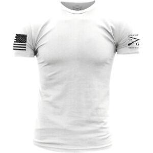 Grunt Style Basic Crew T-Shirt - White