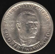 More details for 1946 s u.s.a. booker t washington half dollar   pennies2pounds