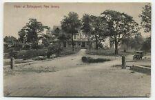 NJ ~ Old Car at Hotel BILLINGSPORT New Jersey c1908 Gloucester County Postcard