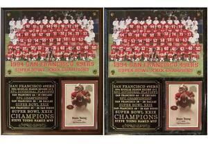 San Francisco 49ers 1994 Super Bowl XXIX Champions Photo Card Plaque