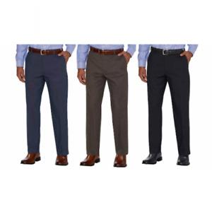 Kirkland Signature Mens Non-Iron Comfort Pants Expandable Expander Waist Variety