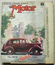 The MOTOR Magazine 20 Jun 1939 SS JAGUAR TESTED New Wolseley Ten DHC