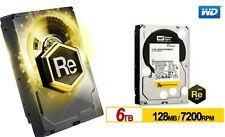 Western Digital 6TB RE Enterprise Hard Drive WD 7200RPM SATA 3 128MB WD6001FSYZ