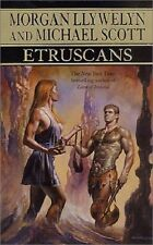 Etruscans Beloved of the Gods by Morgan Llywelyn and Michael Scott (2000, Ha...