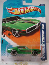 2011 Hot Wheels '67 PONTIAC FIREBIRD 400 1967 #86∞ GREEN ∞ Case N