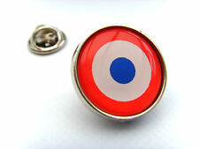 France French Air Force Roundel Lapel Pin Badge Gift