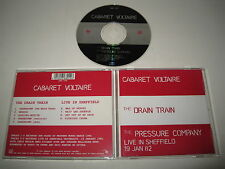 CABARET VOLTAIRE/THE DRAIN TRAIN & PRESSURE CO. LIVE(MUTE/CABS 14CD)CD ALBUM