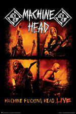 METAL MUSIC POSTER Machine Head Live