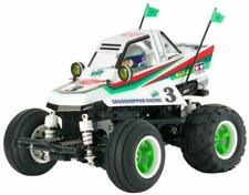Tamiya Comical Grasshopper 2WD Buggy RC Model (58662) - White/Green/Red