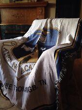 Air National Guard Academy McGhee Tyson ANGB TN Cotton Woven Throw Blanket NEW