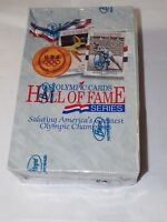 U.S.OLYMPIC CARDS HALL OF FAME SERIES IMPEL 1991 Sealed Waxpack Box