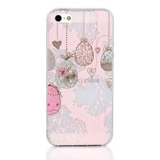 Heart Easter Egg Pattern Soft TPU Case Protective Cover Skin for Apple iPhone 5