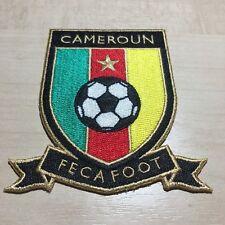 Emblem Kamerun Logo Patch Badge Aufbügler Aufnäher Cameroon Africa Unity Eto´o