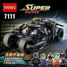 2113PCS BATMAN ~ The Dark Knight 🦇 THE TUMBLER Armored Vehicle Building Blocks