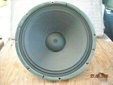 "Vintage 15"" Motorola Golden Voice Alnico Woofer Speaker"