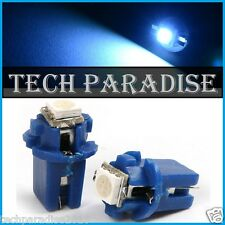 6x Ampoule B8.3D BX8.3D BAX10S ( T5 sur culot ) LED SMD Bleu Blue Neo Wedge