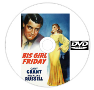 His Girl Friday DVD 1934 Cary Grant Rosalind Russell British Comedy 49a