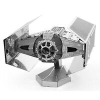 Fascinations Metal Earth Star Wars Darth Vader's TIE Fighter 3D Steel Model Kit