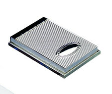 More details for silver plated desktop notepad superb mens ladies home office gift personalised