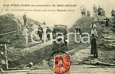 1908 SPASSK Raid PEKIN-PARIS - Victor COLLIGNON sur automobile DE DION-BOUTON