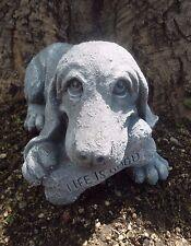 "Latex with plastic backup dog w/ bone mold mould  12""L x 6.5""W x 5..5""H"