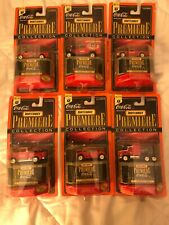 Matchbox Premiere Coca-Cola Collection 1998 LOT FULL SET OF 6 CARS