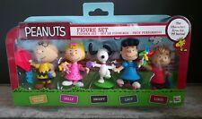 Figurine Set Peanuts 5 Figurines de la série TV Charlie Brown imc Toys Neuf