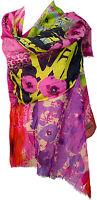Sommer Schal Baumwolle Seide animal floral Digitataldruck Summer scarf cotton