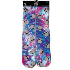 Odd Sox Men's Alien Socks Multi-Color Trippy Psychedelic Nebula Space