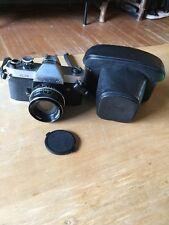 Rolleiflex SL35 with Rollei Planar Zeiss 50mm 1.8 and Rollei Case Rare