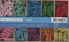 200 Miniklammern zum Basteln oder Dekorieren, Mehrfarbig, OVP