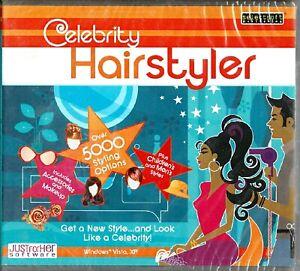 Celebrity Hairstyler Pc New Win10 8 7 XP 5000 Styling Options Women's Men's Kids