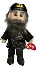 Sunny Toys GL3813 14 In. Biker In Leather Jeans Glove Puppet