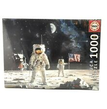 Educa First Men on the Moon 1000 pc Jigsaw Puzzle - (damaged packaging)
