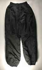 Women's Black Columbia Snow Pants Size Large SL8340