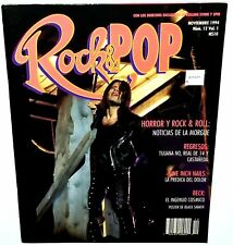 Rock And Pop 1994 Beck Nine Inch Nails Magazine Alternative Indie Punk Metal Lp