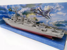 US Navy Guided Missile Destroyer USS Arleigh Burke DDG-51 Ship Display toy Model