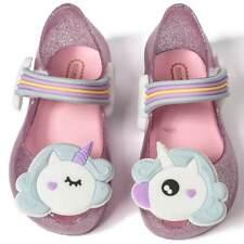 Mini Melissa Pony Rainbow Sandals Toddler Infant Kids Girl Jelly Shoes US 6-11