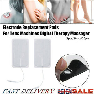 2/10/20Pcs Replacement Electrode Pads For Massagers Tens Units Therapy Machine