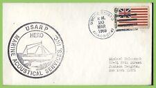 U.S.A. 1969 USARP Hero Marine Acoustical Services, USCGC Edisto cover