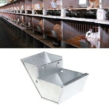 Rabbit Hutch Trough Feeder Drinker Bowl For Rabbit Farming Animal Equipment Tool