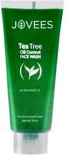 Jovees Tea Tree Oil Control Face Wash pH Balances 5.5 For Oily & Sensitive Skin