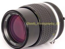 Nikkor 105mm 1:2 .5 Fast & SHARP Nikon AI-S Lens Teleobiettivo Ritratto pellicola/digitale
