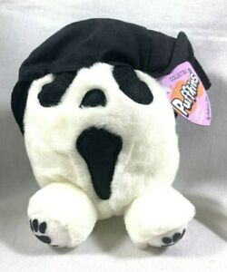 PUFFKINS SWIBCO LIMITED EDITION RARE SCREECH GHOST BD 10-31-00 BEAN PLUSH 4.5